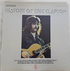 Eric Clapton ‎– History Of Eric Clapton