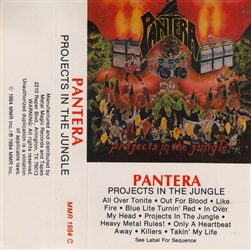 Pantera ‎– Projects In The Jungle