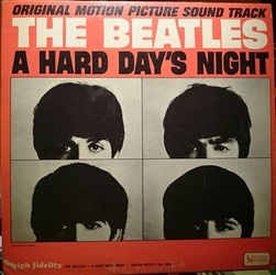 Beatles ‎– A Hard Day's Night (Original Motion Picture Sound Track)